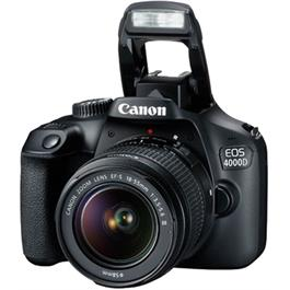 Canon EOS 4000D DSLR Body With EF-S 18-55mm III Lens Kit Thumbnail Image 3